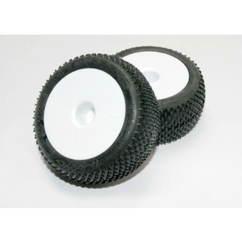 """Tires on wheels assembeled, Response Pro 2.2"""" tires"""