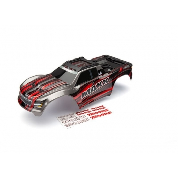 Body Maxx Red painted + Decal Sheet