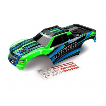 Body Maxx green painted + Decal Sheet