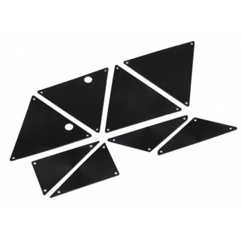 Tube chassis-Chassis inner-Panel Set Black