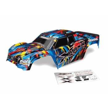 Body X-Maxx Rock n' Roll (painted + Decals) (assembled with accessories)
