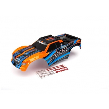 Body Maxx Orange painted + Decal Sheet