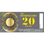 ClayPitRC.eu KINKEKAART väärtusega 20 PitCoin'i