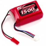 LiPo Rx battery 1500mAh 7,4V 49x28x21mm (EH)