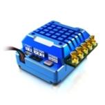 SkyRC ESC Toro TS120A 1/10 2-3s LiPo Blue Alu