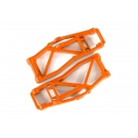 Suspension arms, lower, orange (left and right, front or rear) (2) (for use with #8995 WideMaxx  suspension kit)