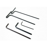 Hex wrenches; 1.5mm, 2mm, 2.5mm, 3mm, 2.5mm ball