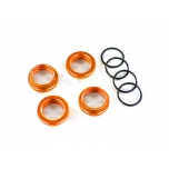 Spring retainer (adjuster) Alu Orange GT-Maxx (4) (with O-Ring)