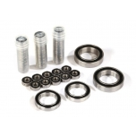 Ball bearing-Set TRX-4 Traxx Black rubber seal, stainless
