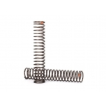 Springs, shock, long (natural finish) (GTS) (0.39 rate, orange stripe) (for use with TRX-4® Long Arm Lift Kit)