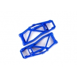 Suspension arms, lower, blue (left and right, front or rear) (2) (for use with #8995 WideMaxx  suspension kit)