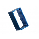 Servo case, aluminum (blue-anodized) (middle) (for 2250 servo)