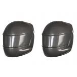Driver helmet, grey (2)