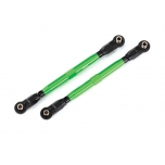 Toe links, front (TUBES green-anodized, 6061-T6 aluminum) (2) (for use with #8995 WideMaxx  suspension kit)