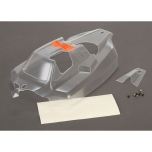 TLR Cab Forward Body, Clear: 8IGHT 4.0