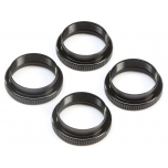 16mm Shock Nuts & O-rings (4): 8X