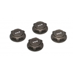 Covered 17mm Wheel Nuts, Alum: 8B/8T