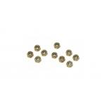 5-40 Locking Nut, Steel (10)