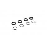 16mm Shock Nuts & O-rings: 8B 3.0