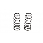 16mm Front Shock Spring, 4.6 Rate, Silver (2): 8B 3.0