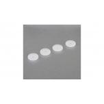 16mm Shk Piston Set, Tapered 1.3mm/Split