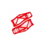 Suspension arms, lower, red (left and right, front or rear) (2) (for use with #8995 WideMaxx  suspension kit)