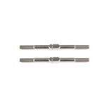 FT Titanium Turnbuckles, 48 mm/1.875 in, silver