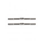 FT Titanium Turnbuckles, 48 mm/1.875 in, silver