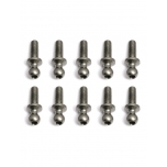 Ballstuds, 8 mm, long neck (10)
