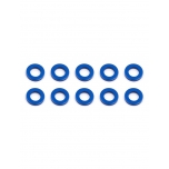 Ballstud Washers, 5.5x1.0 mm, blue aluminum