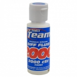 Team Associated FT Silicone Diff Fluid 2000cst, 59 ml