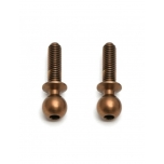 FT TiN Heavy-duty Ballstuds, 10 mm