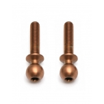 FT TiN Heavy-duty Ballstuds, 12 mm