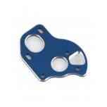 B6.1 Laydown Motor Plate, blue aluminum