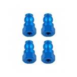 Shock Bushings, 12 mm, blue aluminum