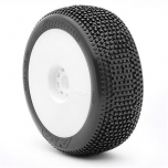AKA Impact Super Soft - Long Wear, pre-mounted on White EVO wheels (2)