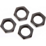 Arrma Wheel Nut Aluminum 17mm Black (4)