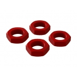 Arrma Aluminum Wheel Nut 17mm Red (4)