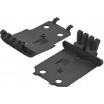Arrma F/R Lower Skidplate (2) 4x4