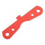 Arrma Suspension Mount RF Aluminum Red