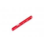 Arrma Rear Center Chassis Brace Aluminum 140mm Red