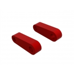 Arrma Aluminum Fr Suspension Mounts (Red) (2)