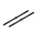Arrma Steel Turnbuckle M6x130mm (Black) (2)