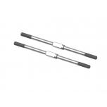 Arrma Steel Turnbuckle M4x95mm Silver (2)