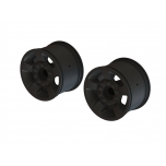 "Arrma Wheel 2.8"" 14mm Hex, Black (2)"