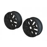 Arrma 1/8 Buggy Wheel Black (2)