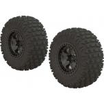 "Arrma Senton Wheel 2.2/3.0"" SC Gun Meta, tire Dboots Fortress (2)"