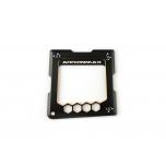 Arrowmax Black Golden Quick Camber Gauge for 1/10, 1.5°, 2°, 2.5°