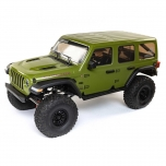 Axial 1/6 SCX6 Jeep JLU Wrangler 4WD Rock Crawler RTR: Green