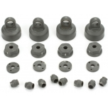 ECX Shock Cap, Piston, Pivot Ball Set: All ECX 1/10 2WD